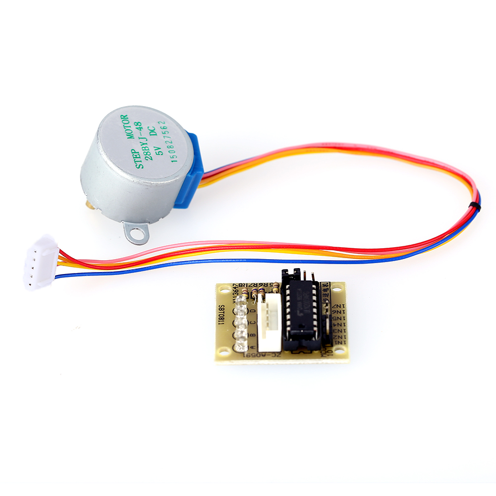 5V 28BYJ-48 4-Phase Stepper Motor with ULN2003 Driver Board