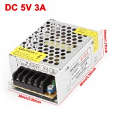 AC/DC Universal Regulated Switching Power Supply,output 5V 3A 15W from 110V-220V AC