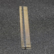 Double Male Pin Header Connectors 1x40 Row 2.54 Breakable 40 Pins Connector Strip