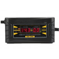 12V Battery Automatic Smart Charger For Car Motorcycle Batteries (LCD Display)