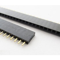 40 Pin Single Row Female 2.54mm Pin Header Connector Strip