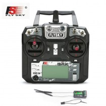 Flysky FS-i6X 10 channel AFHDS Transmitter iA10B i-BUS Receiver 2.4G 2A RC Remote Control For RC Helicopter drone quadcopter