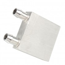 40*40mm Primary Aluminum Water Cooling Block for Liquid Water Cooler Heat Sink System Silver Use For PC,Laptop CPU