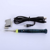 Mini Electronic Tool USB Gadgets USB Soldering Iron Pen 5V 8W LED Indicator Plastic Handle for SMD DIY Soldering