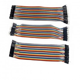 40pcs 20cm M2M + M2F + F2F Jumper Wire Dupont cable 4 Arduino