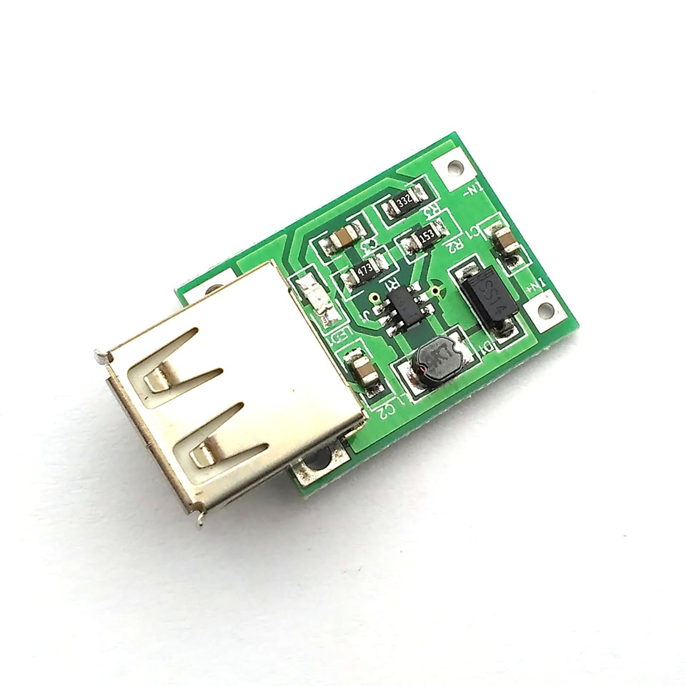 0 9v 5v To 5v 600ma Usb Output Charger Step Up Power