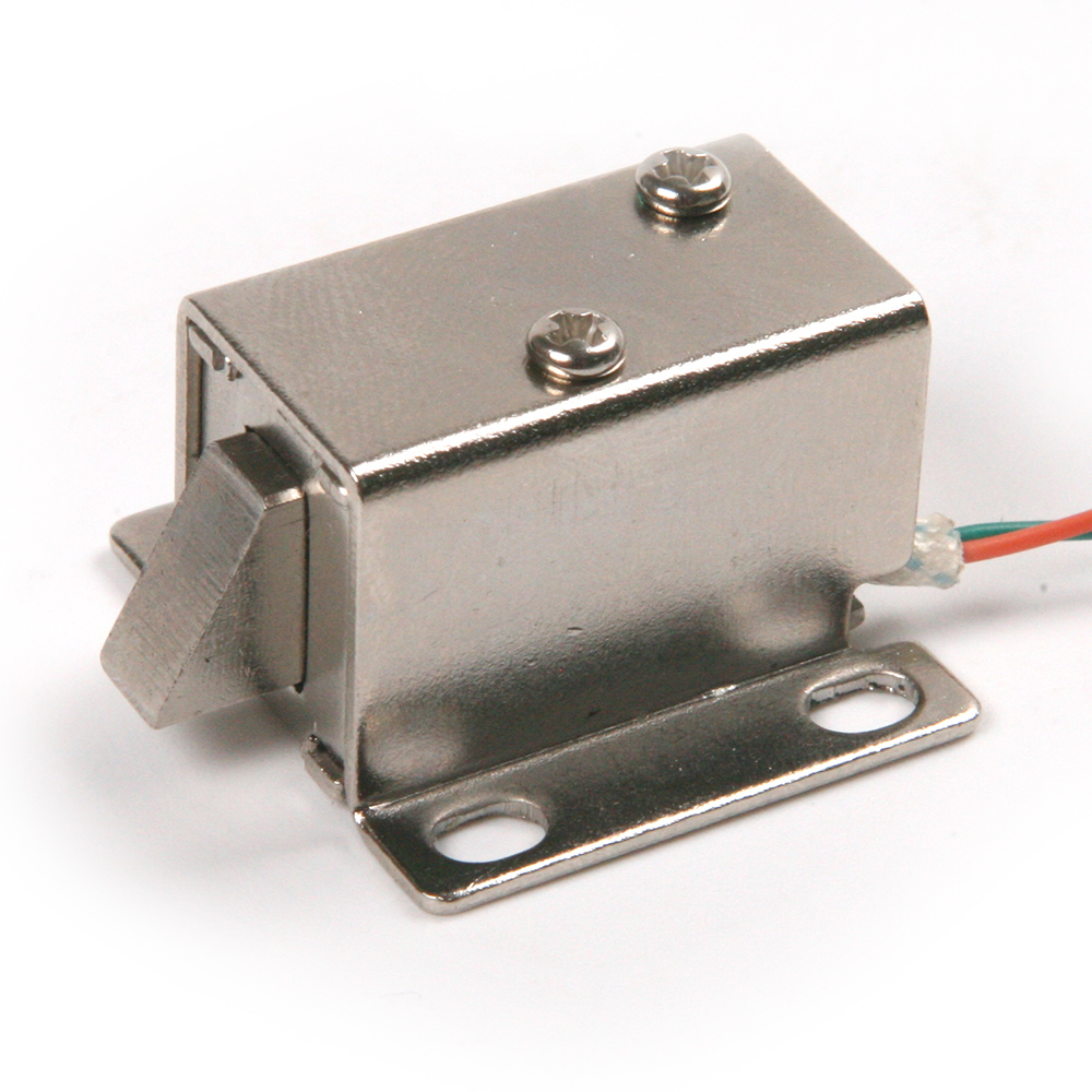 Solenoid Cabinet Door Lock Dc12v Electric Lock Assembly