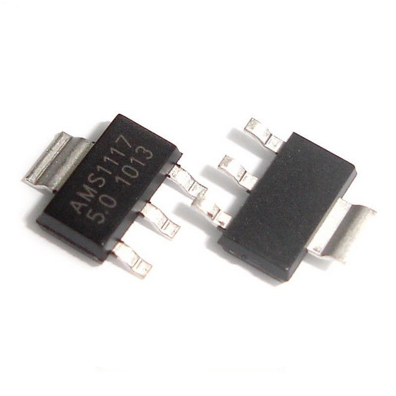 Ams1117 5v Sot223 800ma Low Dropout Voltage Regulator Ams
