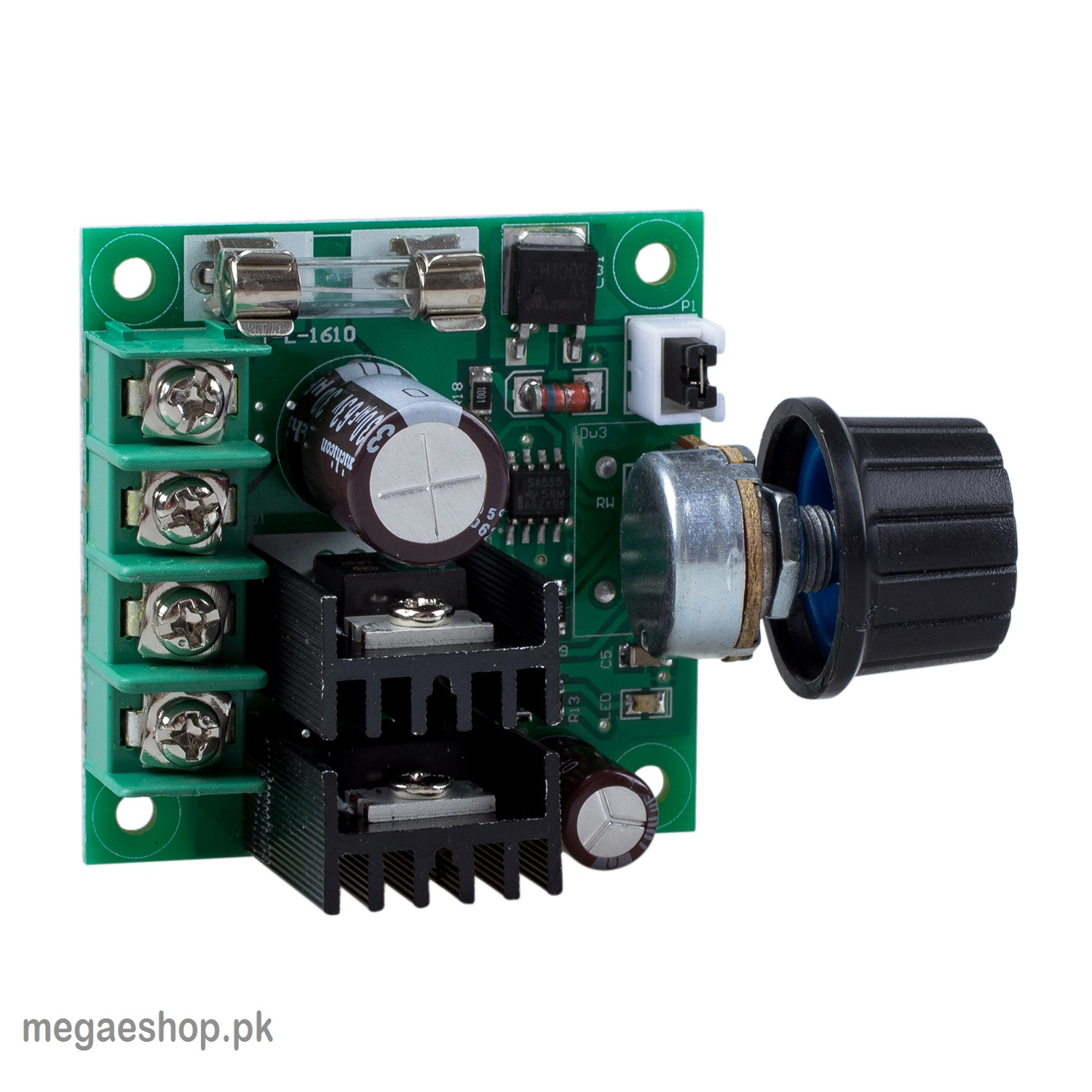 Pwm 10a 12v 40v Dc Motor Speed Controller Buy In Pakistan