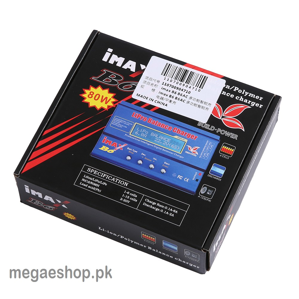 Imax B6 80w Lipo Rc Battery Balance Charger Nimah Li Ion Nicd Buy In Digital Nimh And More Views