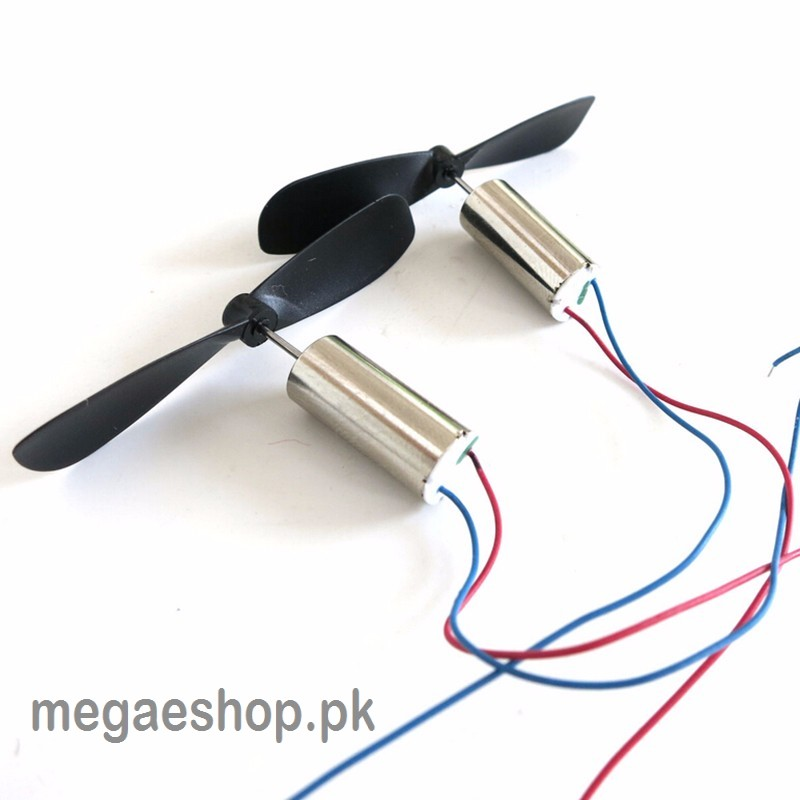 2pcs dc3 7v 614 6 14mm micro diy helicopter coreless dc for Toy helicopter motor rpm
