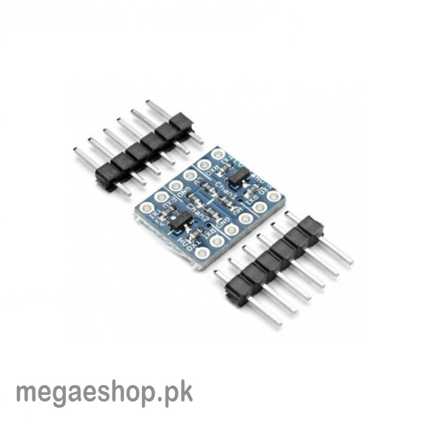 iic i2c logic level converter module 2 channel 5v to 3 3v