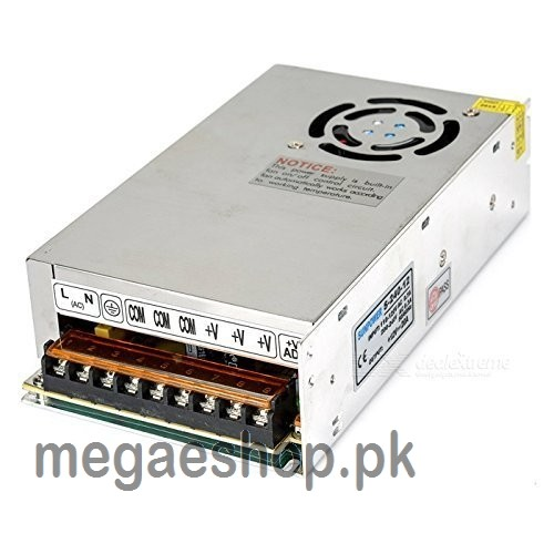 SOUER 12V 20A - 240W AC to DC Switching Mode Industrial Power Supply With Cooling Fan
