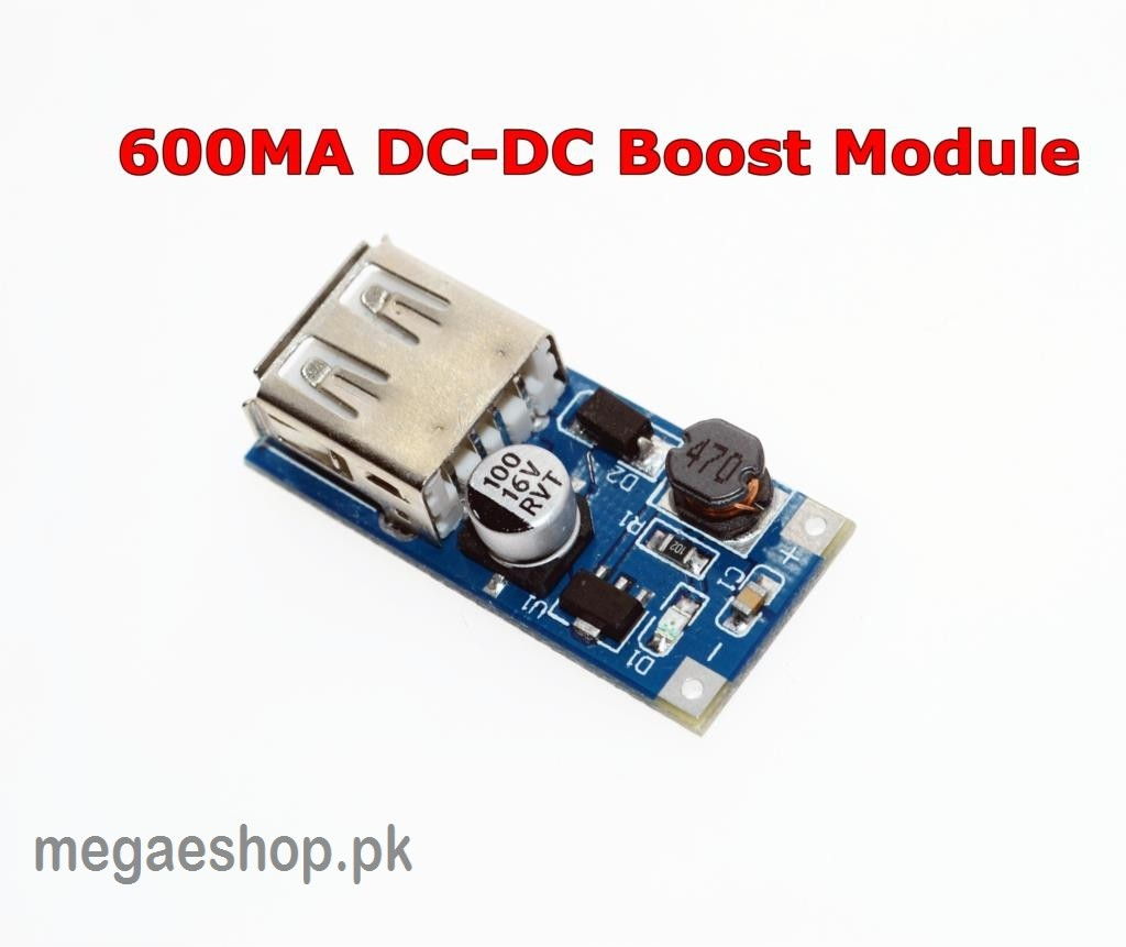 0.9V ~ 5V to 5V 600MA USB Output Charger Upgrade Module
