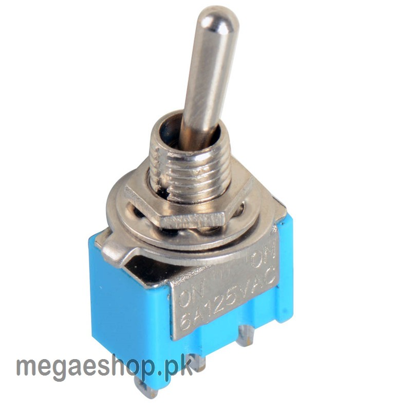 Miniature Toggle Switch MTS-102 3-Pin 6A