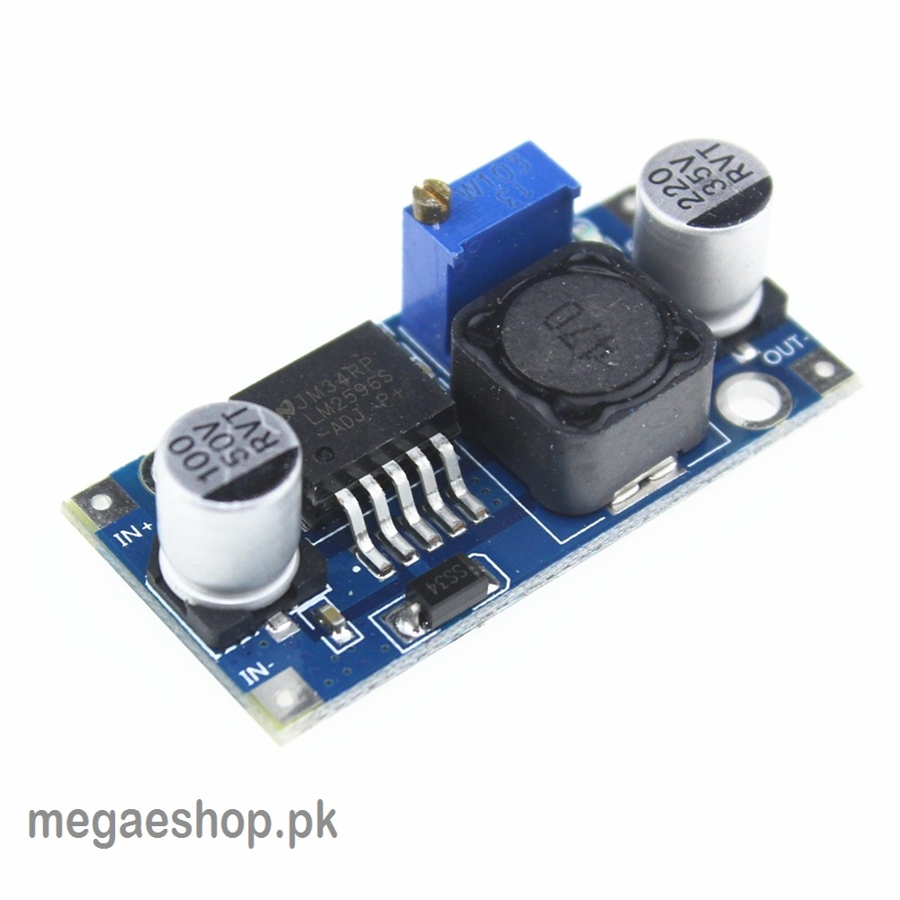 LM2596 DC Adjustable Step-Down Power Supply Module