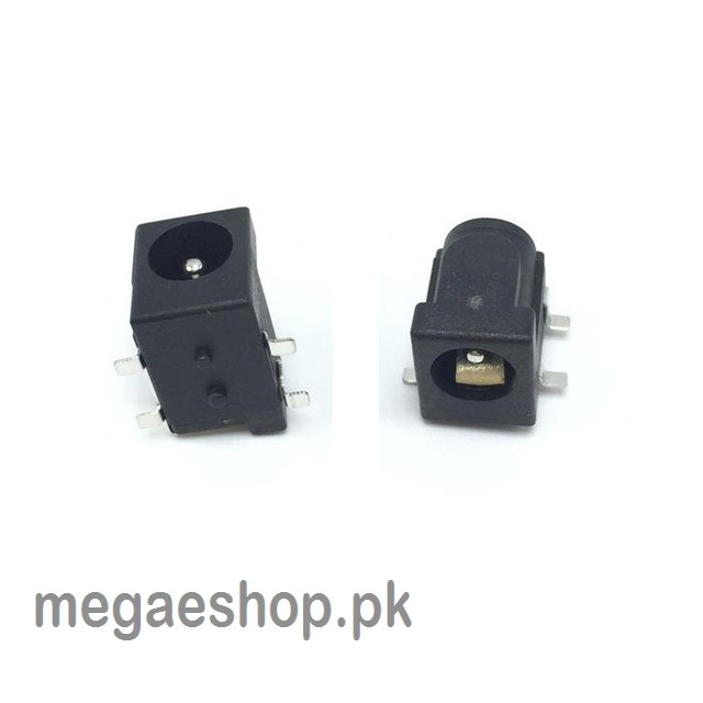 DC-005 Black DC Power Jack Socket Connector 5.5*2.5mm