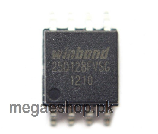 WINBOND W25Q128 Flash Memory Chip 128Mbit 16MB