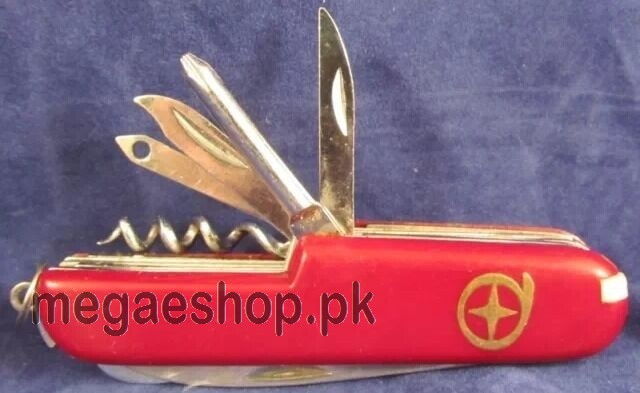 13 Function Swiss Army Style Pocket Knife Camping Fishing Hunting RA141R