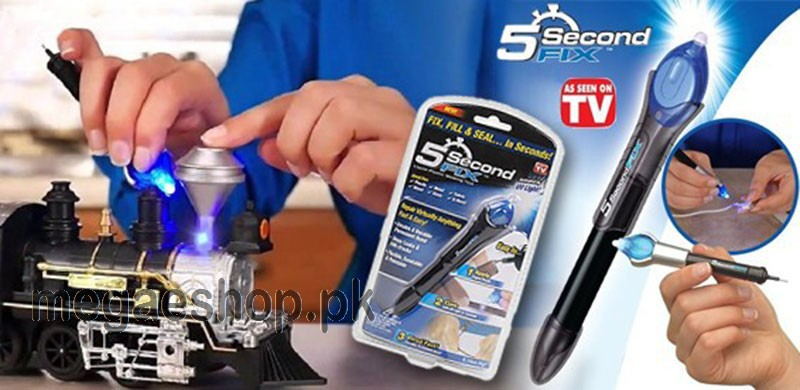 5 Second Fix UV Light Repair Tool With Glue Super Powered Liquid Plastic  Welding