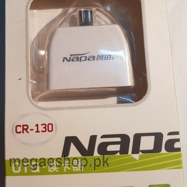 Napa otg reader android mobile tablet otg phone read tf card/sd card u disk