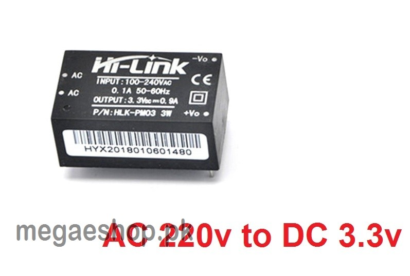 HLK-PM03 220V AC to DC 3.3V Step Down Isolated Power Supply Module