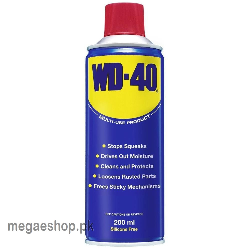 WD40 Spray WD-40 200ml Original Contact Cleaner Mechanical