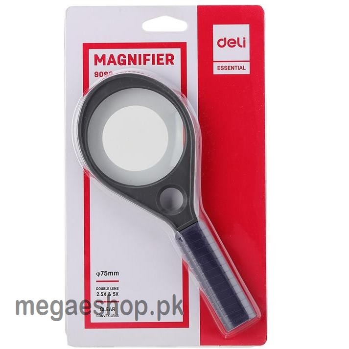 Magnifying Glass 75mm Double Lens Magnifier with compass