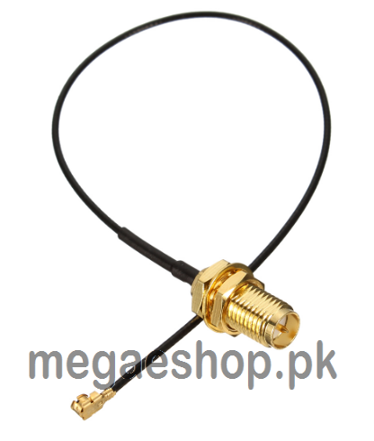 Mini RP-SMA to IPX Pigtail Antenna WiFi Cable Jack Male SMA to IPX Extension Cord Connector Line