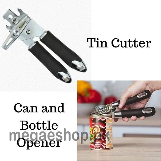 TIN CUTTER CAN AND BOTTLE OPENER