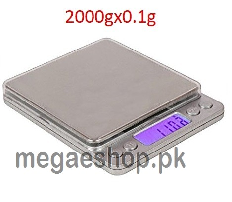 Jewellery Weighing Professional Digital Table Top Weight Scale 2000gx0.1g