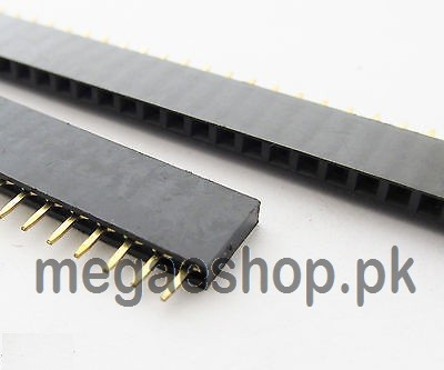 40 Pin Single Row Female Pin Header Connector Strip