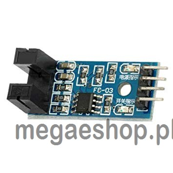 Slot Type IR Opto Coupler Speed Sensor Module LM393 for Arduino