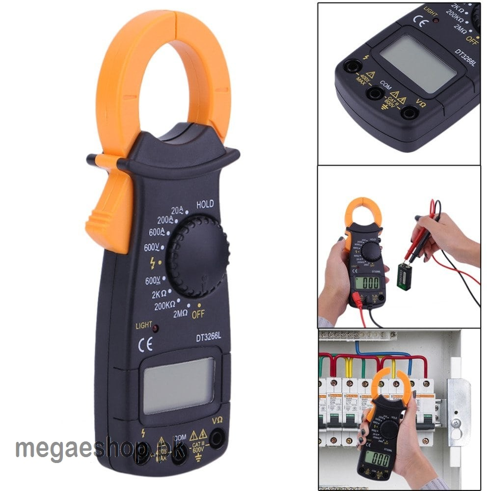 DT3266L AC/DC Handheld Digital Clamp Meter