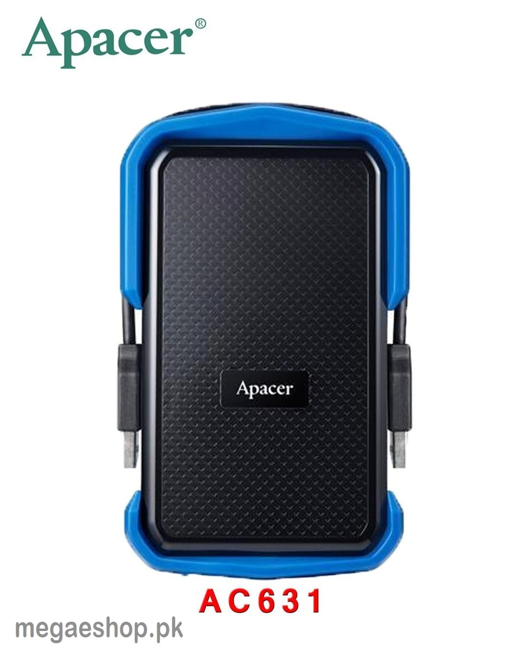 Apacer AC631 Shockproof 2TB Portable Hard Drive