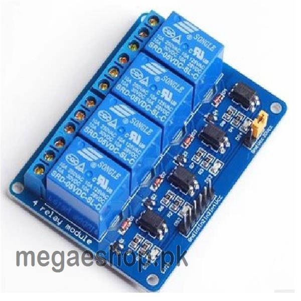 4 Channel Relay Module Relay Expansion Board output 4