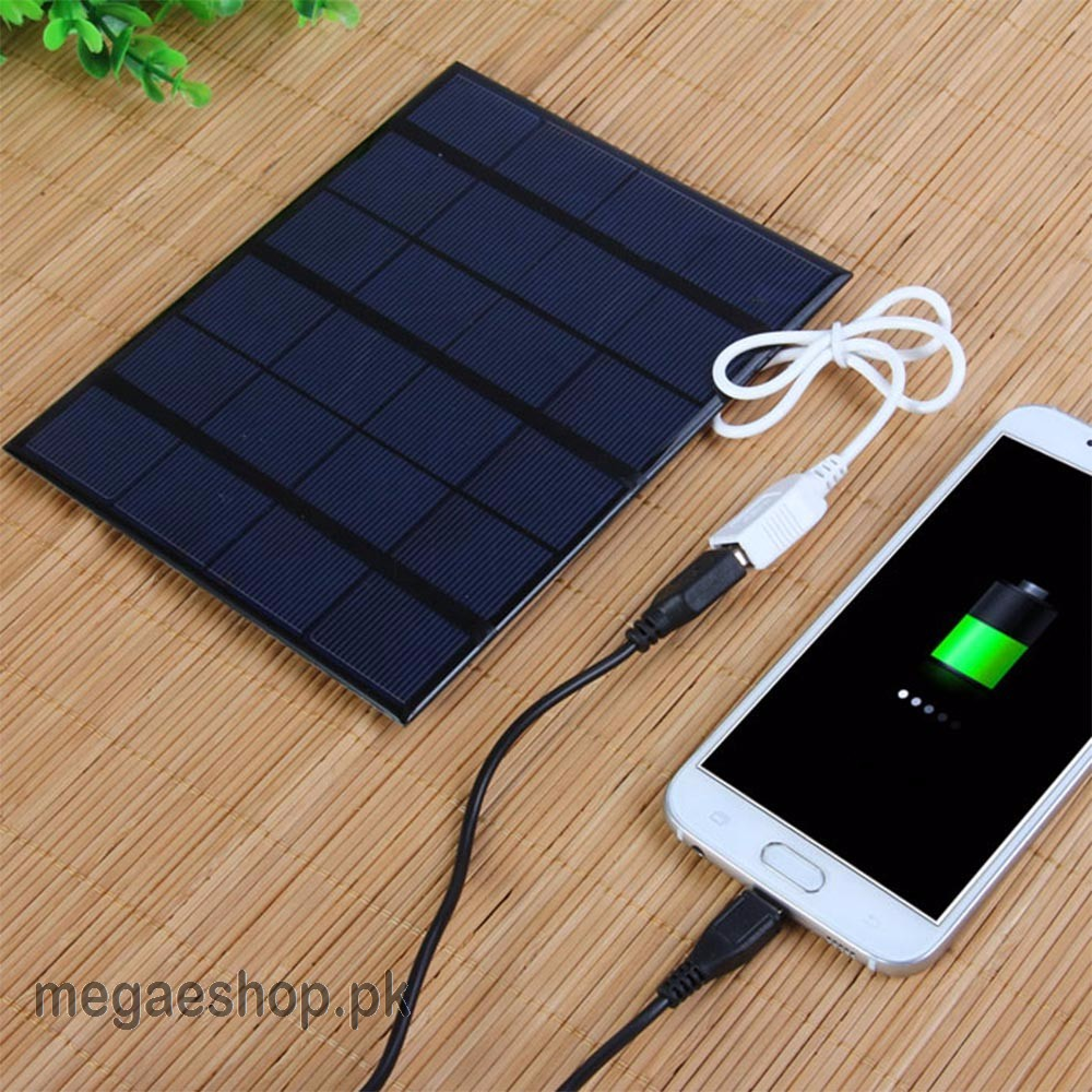 Solar Panel Usb Solar Mobile Phone Charger 6v 3 5w 580