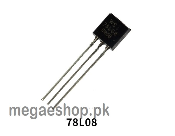 78L08 Positive Voltage Regulator 8V 100mA Case TO-92 TO92 IC LM78L08 Description: The LM78L08 is a three-terminal positive regulator is available with several fixed output voltages  making them useful in a wide range of applications. When used as a Zener