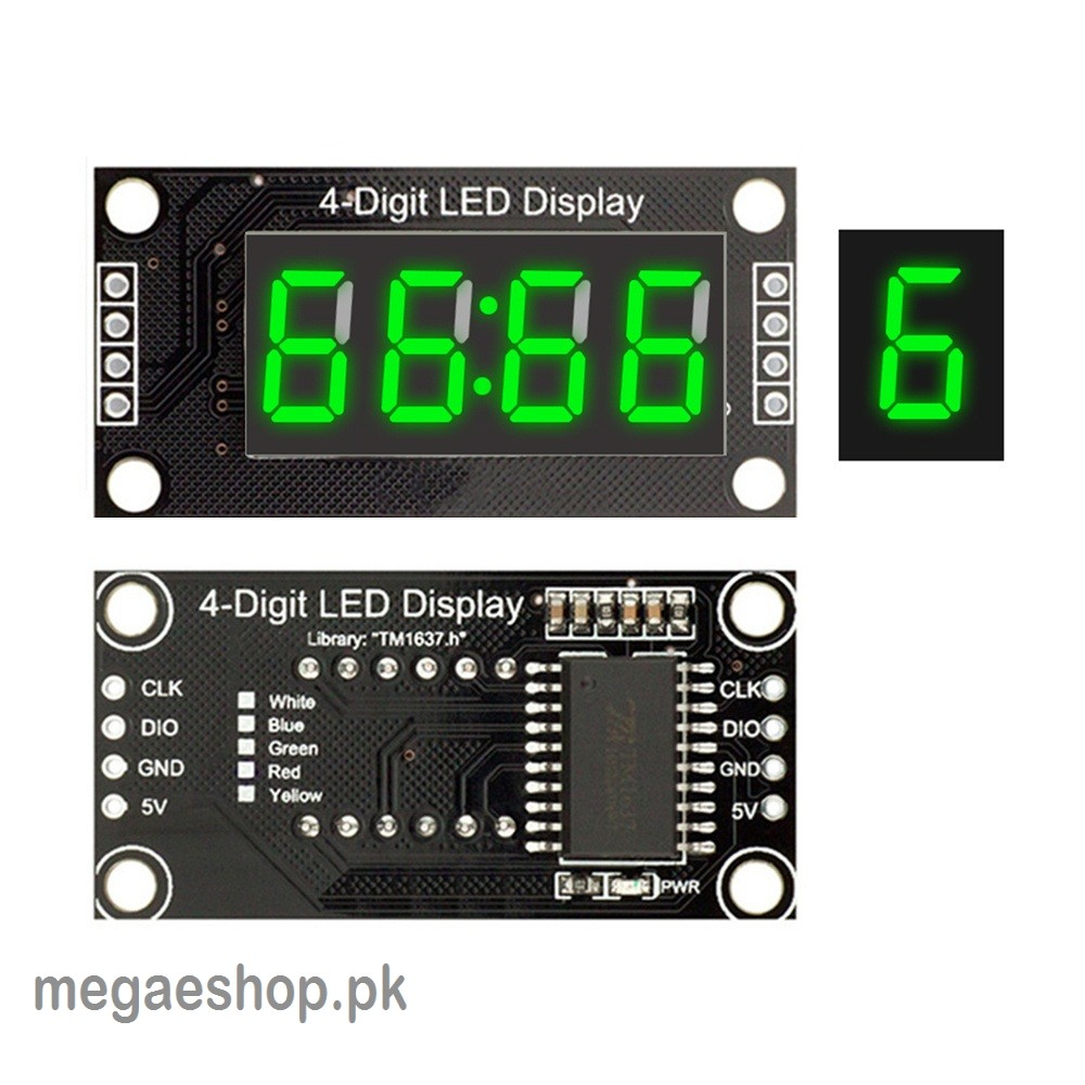 Digital LED Tube Display for Arduino