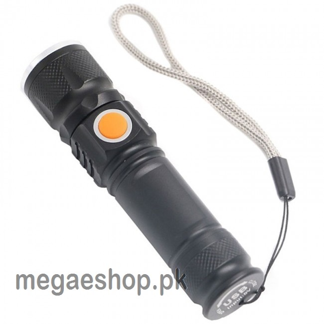 USB Charging Handy Super Bright Led Torch Light,Zoomable Torch Light U.S.A RL-501