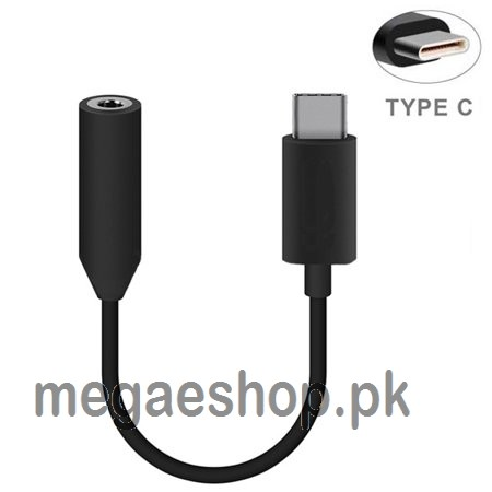 Type-C to 3.5mm Earphone Audio Cable Music Port Adapter