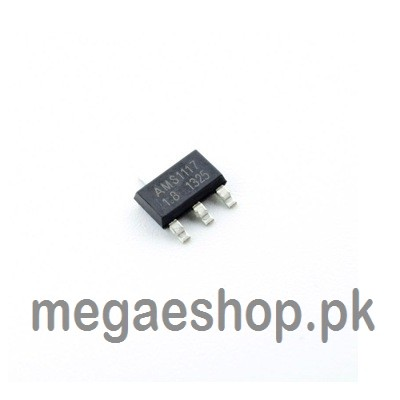 AMS1117 – 1.8V, 1A, SMD Voltage Regulator SOT-223 Voltage Regulator