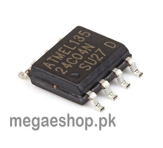 AT24C04-10SU-2.7 SOP-8 AT24C04 24C04 2-Wire Serial EEPROM IC/SMD