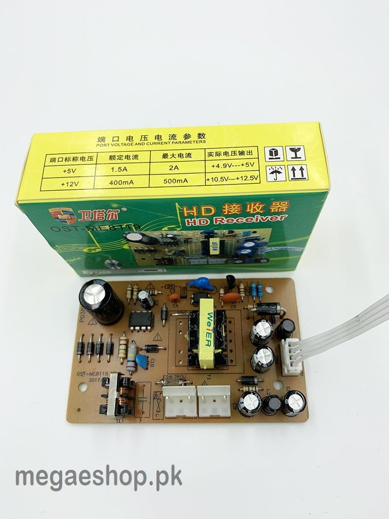 DVB Power Board Eastern HD Receiver Power Suply OST-ME8119