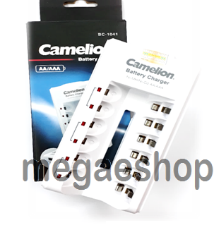 CAMELION AA-AAA BATTERY CHARGER  BC-1041, Charge 2/4/6 batteries at the same time