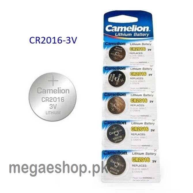 Camelion Cr2016 3 V Lithium-ion Button Cell Battery