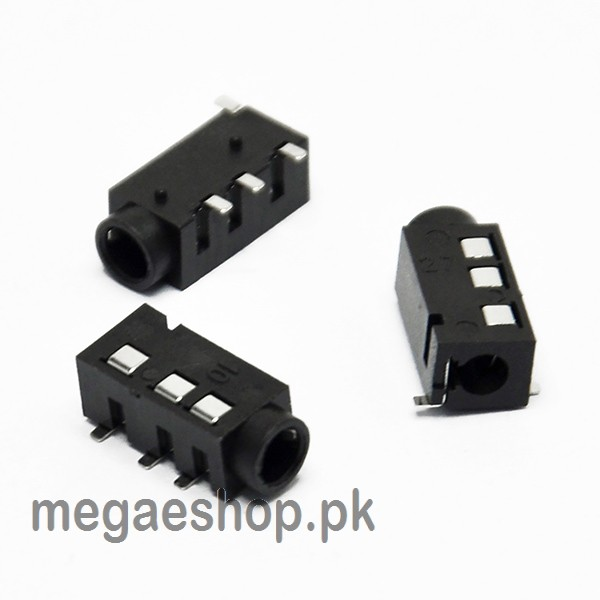3.5MM sterio audio jack female PJ-320D headphone socket 4-pin
