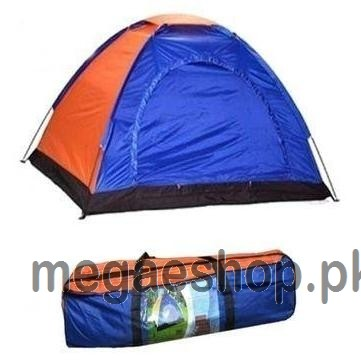 2,4,5,6,7,8,10,12 Person Outdoor Parachute Camping Tent - Travelling Hiking - Water Resistant - Random Color