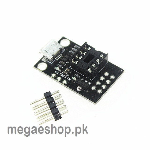 Pluggable Development Board For ATtiny13A/ATtiny25/ATtiny45/ATtiny85 Programming Editor