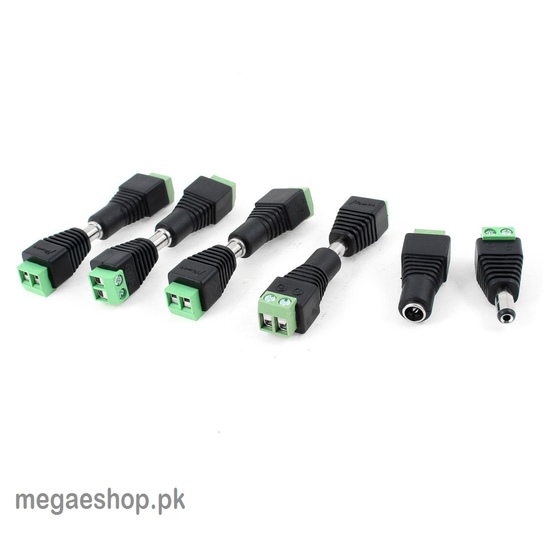 Dc Power Solderless Plug Adapter Pair 12v For Cctv Cameras Ptcl 10pcs Pigtail Male 5 2 1mm Cable Wire Modem Buy In Pakistan